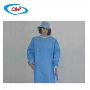 Nonwoven Reinforced Surgical Gown